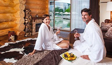 Therme Erding See Chalets