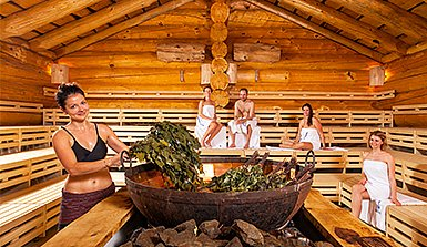 Therme Erding Aufguss Sauna