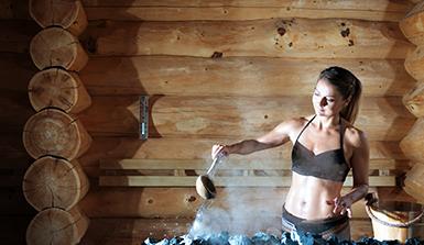 Therme Erding Sauna Lieblingsmoment