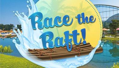 Therme Erding Race the raft