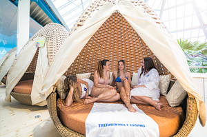 Therme Erding Relax Island Empore