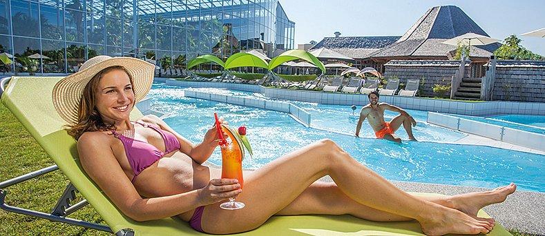 Therme Erding Sommer Liegemöglichkeiten