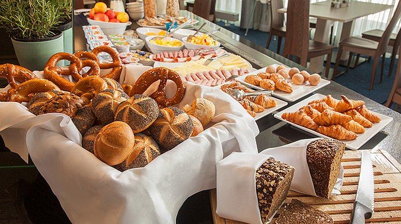 Therme Erding Victory Gästehaus Frühstück