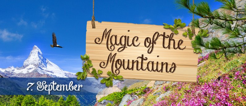 Therme Erding Event Magic of the Mountains