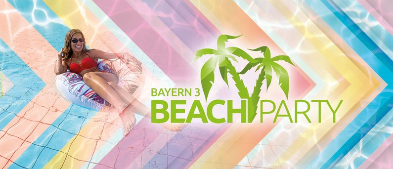 [Translate to en:] Therme Erding Event Bayern 3 Beachparty