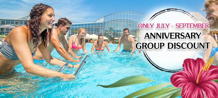 Therme Erding Anniversary Group Discount