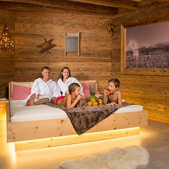 [Translate to en:] Therme Erding Alm Chalet Angebot