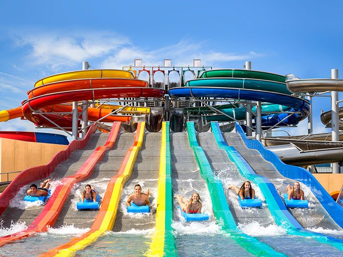 Therme Erding Rainbow Racer