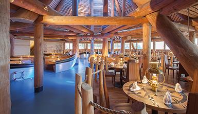 [Translate to en:] Hotel Victory Therme Erding Hafenrestaurant Fruehstuecksgutschein