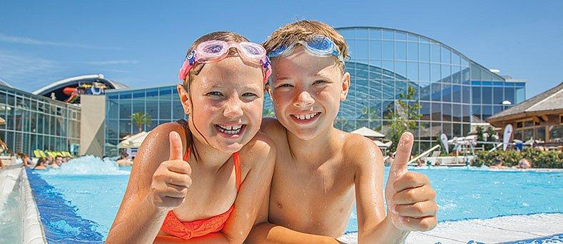Therme Erding Sommer Wasserattraktionen