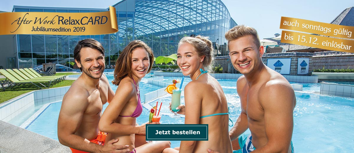 After Work Relax Card Therme Erding