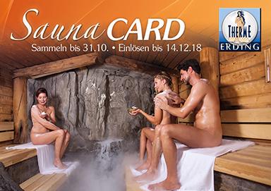 Therme Erding SaunaCARD
